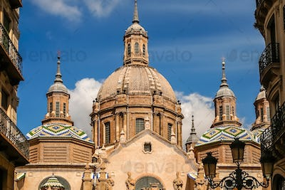 The Domes of Zaragoza Cathedral
