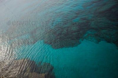Sea bay with azure water near Protaras, Cyprus island.