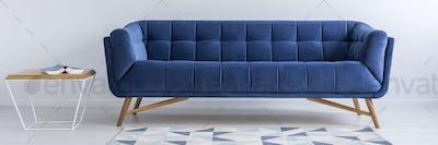 Sofa, table and rug