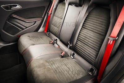 Modern Race Car Interior