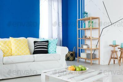 Leisure room with sofa