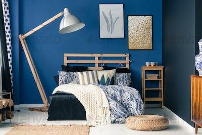 Stylish bedroom interior