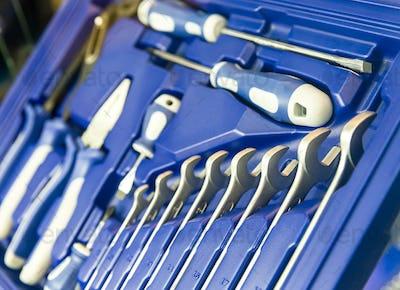 Professional toolbox for workshop and car repair