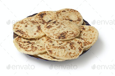 Traditional Moroccan pancakes for breakfast
