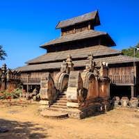 Shwe wah thein temple, Bagan, Myanmar