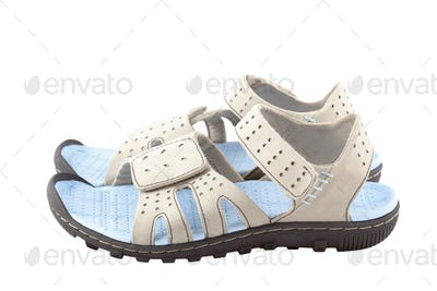 Sport sandals isolated