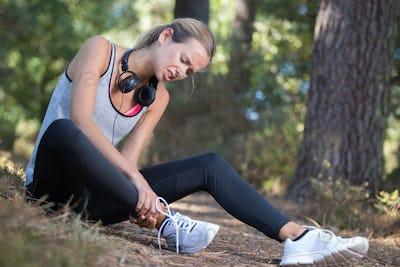 injury while doing exercise