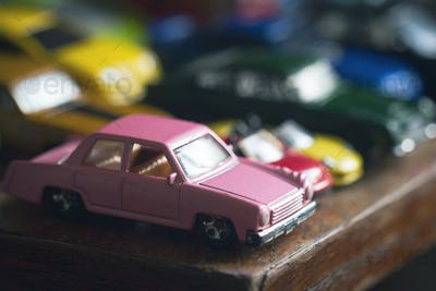 assorted colorful car collection