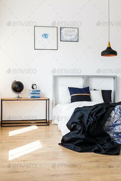 Elegant design of bedroom