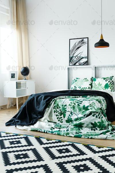 Floral design of bedding