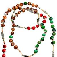 natural material lady's bead closeup