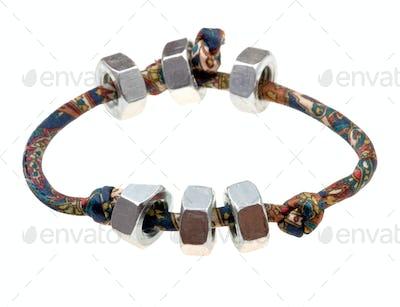 textile lady's bracelet