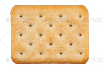 biscuit isolated on white
