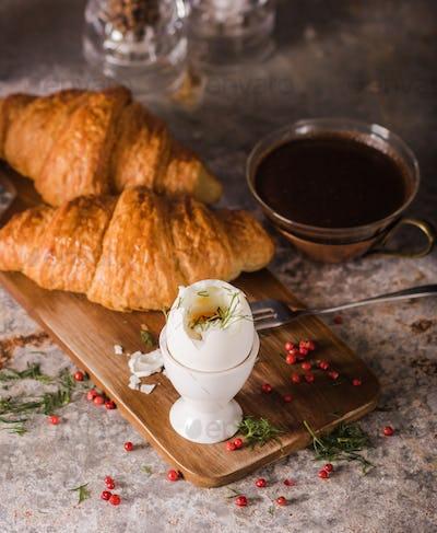 Morning boiled egg