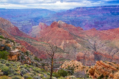 Colorful Grand Canyon View