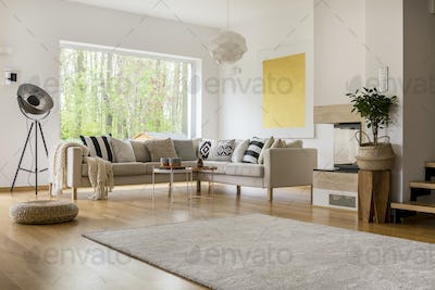 Open space in apartment