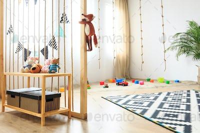 Wooden room for children