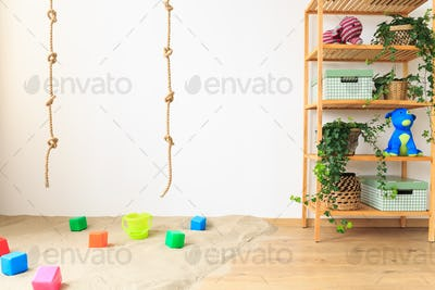 Ropes in baby room