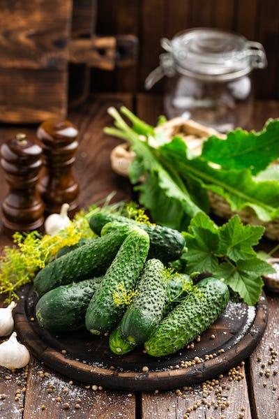 Canning cucumbers