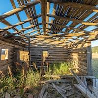 Abandoned Homestead Cabin