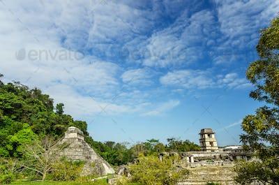 Palenque Temples