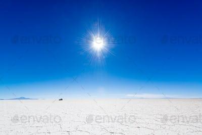 Sun, SUV, and Salt