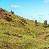 Easter Island Moai at Rano Raraku