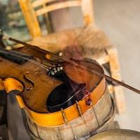 Old vintage violin