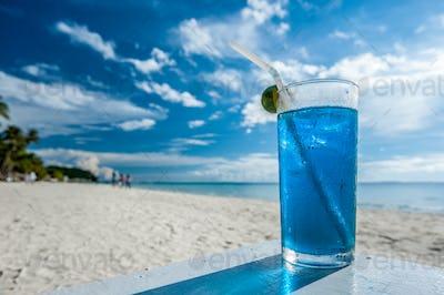 Cocktail at Boracay beach, Philippines