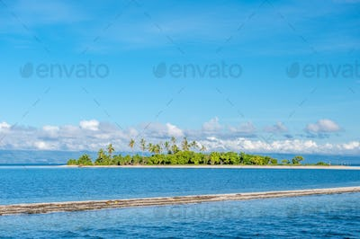 Tropical island at Philippines