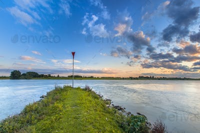 Pier in the Rhine