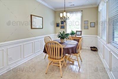 simple diningroom