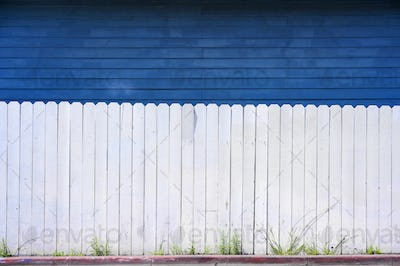 Wooden Fence Abstract Background