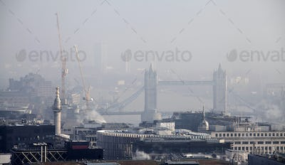 London view from St Paul cathedral