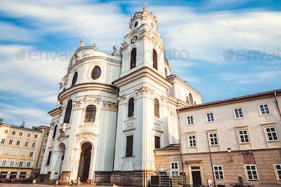 Kollegienkirche in old town Salzburg Austria