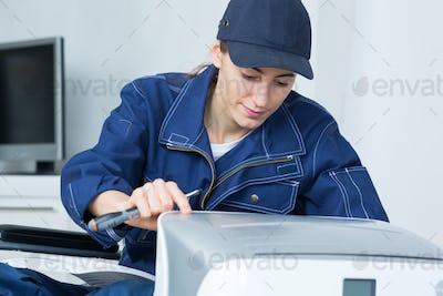 the company's maintenance crew