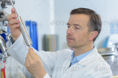 scientist and the result of research