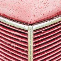 cherry red vehicle panel