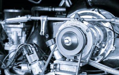classic vehicle engine