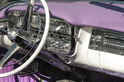 dashboard and steering wheel