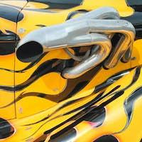 flaming paintwork