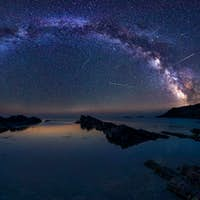 Milky Way and the Perseids