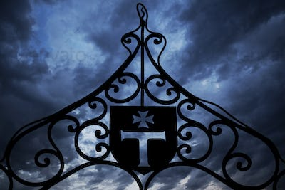 Templars iron gate