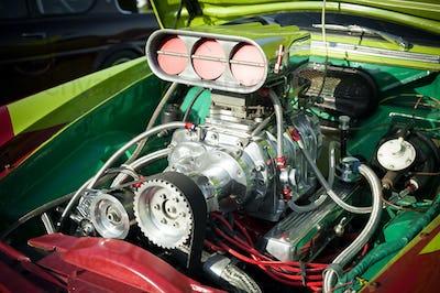 hot-rod engine