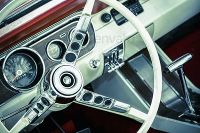 muscle car interior