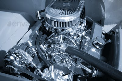 supercharged engine