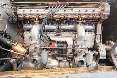 vintage vehicle engine