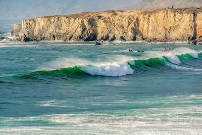 USA Pacific coast, Sand Dollar Beach, Big Sur, California
