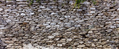 Stone wall background - Greece