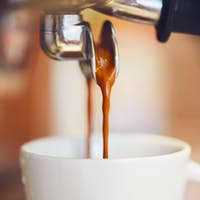 Prepartion of the coffee